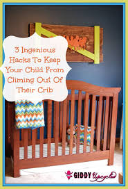 3 diy hacks to prevent your child from climbing out of their crib