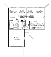 l shaped floor plans crestbrook berm ranch home plan 008d 0023 house plans and more