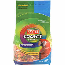 kaytee exact rainbow chunky large parrot food 2 5lb online only