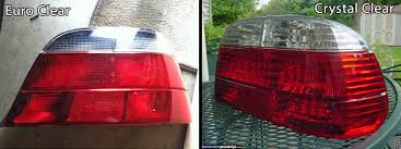 e38 euro tail lights euro red taillights