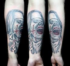 exorcist nurse arm tattoo free image peakpx