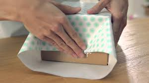 giftology how to wrap a box