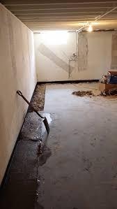 Basement Repair Milwaukee by Basement Waterproofing Milwaukee Area Interior Drain Tile Se