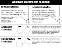 crutch tips accessories and parts by millennial medical tp6a