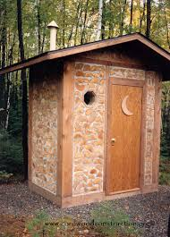 cordwood outhouses u0026 bathrooms cordwood construction