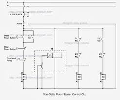 star delta connection wiring diagram components