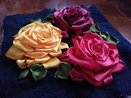 silk ribbon roses 118 best ribbon embroidery images on ribbon