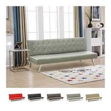 letto casa divano in similpelle pronto letto 3 posti per casa ufficio sala d