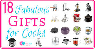 18 fabulous gifts for cooks simple