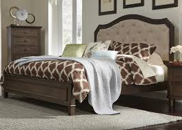 Liberty Furniture Industries Bedroom Sets Liberty Furniture Berkley Heights Queen Panel Bed With Upholstered