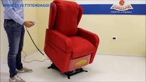 poltrone x anziani poltrona elettrica con ruote per anziani e disabili mod debora