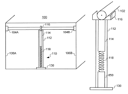 patent us6409139 adjustable height closet rod support google