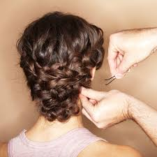 Hochsteckfrisurenen Lange Haare Dutt by Haarstyling Lange Haare Hochstecken Kein Problem Brigitte De