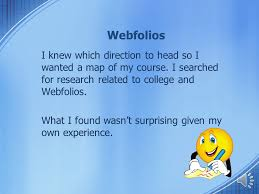 business communications class using webfolios efficiently by richard struck formal