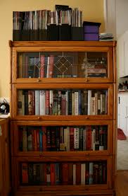 Cherry Bookcase With Glass Doors Furniture Bookcase With Glass Doors To Keeps Your Favorite Items
