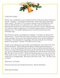 thank you letter for family gallery letter format examples