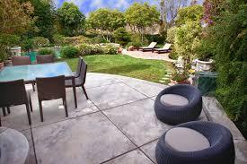 Lounge Patio Chair Concrete Chair Patio Transitional With Concrete Patio Multiple