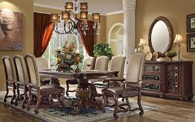 formal dining table set great wonderful the ashley furniture dining table with bench home
