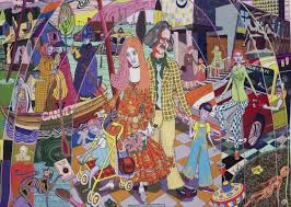 Grayson Perry Vanity Of Small Differences Grayson Perry U0027s Tapestries Are A Peep Into The World Of U0027essex
