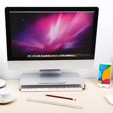 computer imac laptop pad desktop tray workspace monitor riser desk