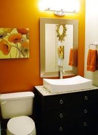 orange bathroom ideas great tile and wall board 31 cool orange bathroom design to home