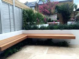 modern backyard bench full size of benchmodern garden bench