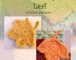 amigurumi leaf pattern crochet pattern autumn leaves crochet leaf pattern crochet