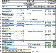 Food Cost Spreadsheet Free by Food Cost Spreadsheet Free Exltemplates