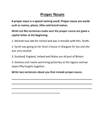 proper nouns by lynreb teaching resources tes