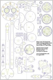 Simple Wood Project Plans Free by Best 25 Wooden Clock Plans Ideas On Pinterest Wooden Gears