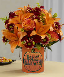 fun and spooky flowers and gift ideas for halloween parties and