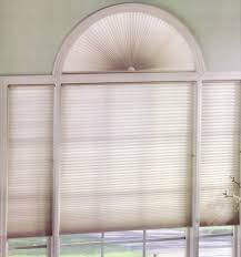 Sheer Roller Blinds For Arched Levolor Accordia Single Cell Cellular Shades Perfect Arch