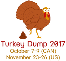 turkey dump thanksgiving up stories support e cards and