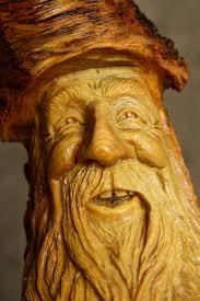Rustic Log Home Decor Wood Spirit Carving Wood Carving Wood Spirit Valentines Day