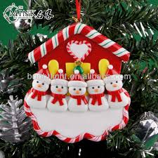 mink santa claus christmas ornaments gift message board pull