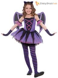 halloween costume kids girls ballerina bat tutu halloween costume age 3 10 fancy dress