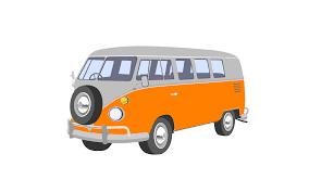 volkswagen bus drawing volkswagen van clipart clipartxtras