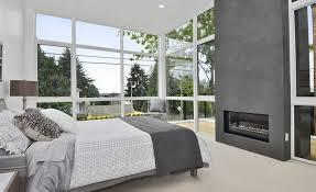 deco chambre gris et blanc idées déco chambre à coucher en couleurs naturelles plus de 100