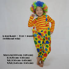 kids halloween clown costumes compare prices on costume clown kids online shopping buy low