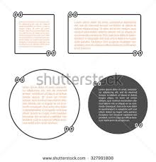 Business Cards With Quotes Quote Bubble Stock Vector 383594215 Shutterstock