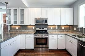 Kitchen Ideas With White Cabinets Gray Countertops With White Cabinets The Psychology Of Why Grey