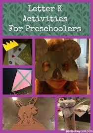 preschool activities for the letter k