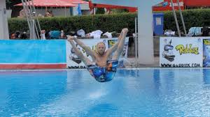 the man who turned dive bombing swimming pools into a sport vice