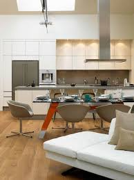 Kitchen And Dining Table Modern Kitchen London By David - Dining table in kitchen
