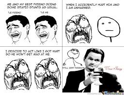 Stupid Friends Meme - best friends doing stupid stunts by whatjusthappened meme center