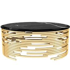 marble center table images modern european modern brass and black marble center table center
