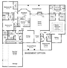 Walkout Basement House Plans Ranch House Plans With Basement
