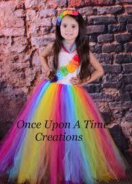Candy Halloween Costumes Girls Candy Rainbow Birthday Tutu Dress Photo Prop Halloween