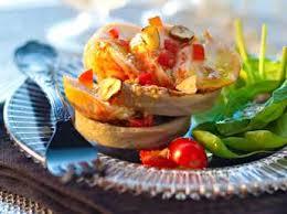 comment cuisiner la langouste salade de langoustes recette sur cuisine actuelle