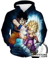 dragon ball shirts father son kamehameha goku gohan